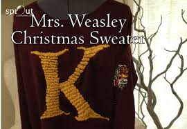 Harry Potter Mrs. Weasley Christmas Sweater {DIY Friday} - Sprout ...