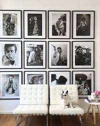 black picture frames wall. Fine Black Design Trends What I Am Loving For 2017 U2014 The Decorista Inside Black Picture Frames Wall
