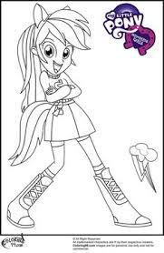 Small Picture My Little Pony Equestria Girls Coloring Pages Home Pinterest