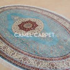 hand knotted oval rugs for floor covering with wood floors