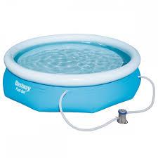 10ft Fast Set Inflatable Pool Above Ground Pool Bestway UK