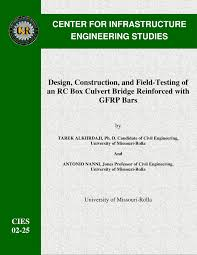 Boxcar Culvert Design Software Pdf Design Construction And Field Testing Of An Rc Box