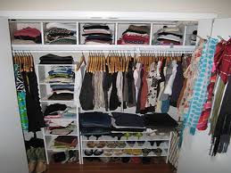 unique small walk in closet organization ideas