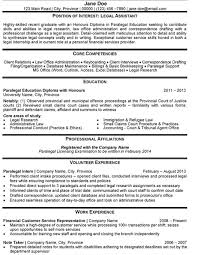 Legal Assistant Resume Template Legal Secretary Resume Example