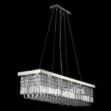 modern rectangular crystal chandelier dining room length multiple pertaining to stylish residence modern rectangular crystal chandelier remodel