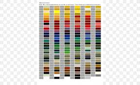 Ral Chart Download Ral Colour Standard Color Chart Paint Sheen Png 500x500px