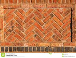 Herringbone Brick Pattern Unique Red Herringbone Brick Wall Seamless Background Stock Image Image