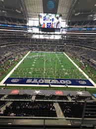 Dallas Cowboys Stadium Seating Chart At T Stadium Section 348 Dallas Cowboys Rateyourseats Com