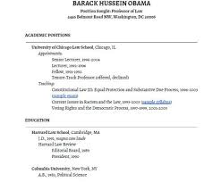 President Obama's Academic CV By Stevekolowich Thoughts For My Cool Barack Obama Resume