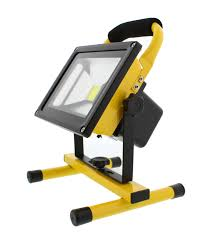 Light And Portable Abn Rechargeable Led Work Light 20w 1800lm Cordless Portable Flood Light