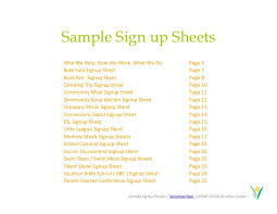 Make A Sign Up Sheet Make Free And Easy Online Calendar Sign Up Sheets