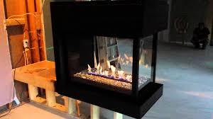 montigo 3 sided fireplace for amazing 3 sided gas fireplace