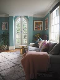 How To Decorate My Living Room Before After Decorating My Living Room Blue Melanie Lissack