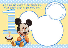 Free Printable Baby Mickey Mouse Invitations Free Printable Mickey Mouse Invitations Exclusive Selection