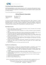 Research Analyst Resume Equity Research Resume Research Associate