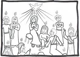 Small Picture Pentecost Coloring Page Coloring Home