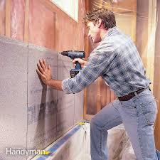 the best base for ceramic tile is waterproof cement board