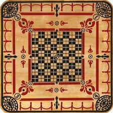 Vintage Wooden Board Games