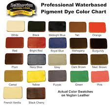 Eco Flo Dye Color Chart 73 Right Leather Dye Colors