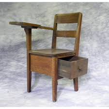 wooden school desk and chair. Antique Wood School Desk Chair Wooden And L