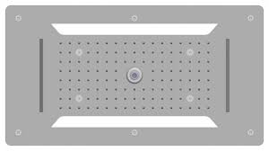 l rain shower stainless steel shower head dpg5030 70x38cm ceiling installation