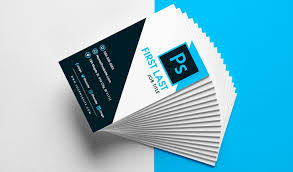 Namecard Format Free Vertical Business Card Template In Psd Format