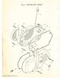 1972 yamaha dt2mx 250cc rt2mx 360cc two stroke motorcycle parts manual