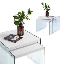 furniturer glass coffee table sets
