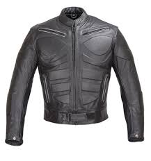 mens ace motorcycle armor leather jacket