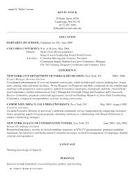 Remarkable Harvard Sample Resume Law For Your Sample Resume For