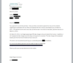 freelance writer collection letter