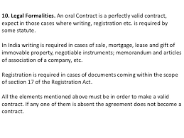 Contract Essential Elements Amazing ESSENTIAL ELEMENTS OF A VALID CONTRACT