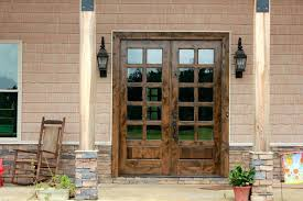 white double front door. Double Front Doors Exterior With Transom Entry Black . White Door