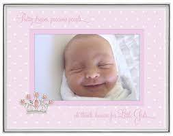 Malden International Designs Photo Frames Malden International Designs Baby Sentiments Girl Pink Mat