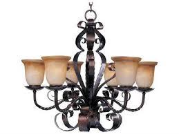 maxim lighting aspen oil rubbed bronze six light 30 wide chandelier