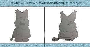 Old vs. New meme: Chowder by kyotohru135 on DeviantArt via Relatably.com