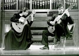 Avelina Vidal Seara Seara y Pedro Martin. Concierto Castelnuovo-Tedesco y  la guitarra - Photo archive • Fundación Juan March
