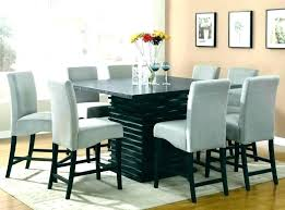 square dining table for 8 size round what seats tables that seat chair