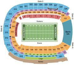 Mclane Stadium Seating Chart Waco