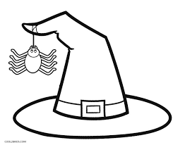 Halloween Witch Coloring Pages For Kids At Getdrawingscom Free