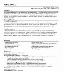 Office Administrative Assistant Resume Samples Good Administrative Assistant Resume Hotwiresite Com