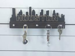 houston skyline key holder
