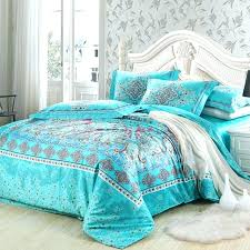 turquoise duvet covers duvet cover and covers queen turquoise and red southwestern style unique fl pattern