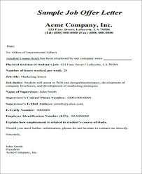 Samples Of Appointment Letter For An Employee Best Offer Letter Format Joining Letter Format Doc File Best Of
