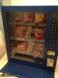 Diy Vending Machine Extraordinary Creative Homemade Vending Machine Costume Photo 488488