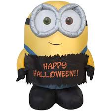 Airblown Inflatable Happy Halloween Minion