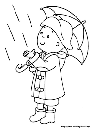 Caillou Coloring Picture My Coloring Book Coloring For Kids