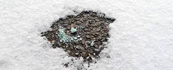 Ice Melt Comparison Chart Snow Ice Salt Chemicals