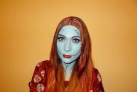 sally nightmare before christmas costume sally full makeup