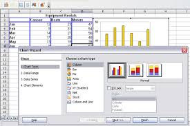 Types Of Charts In Openoffice Calc Creating A Chart Apache Openoffice Wiki
